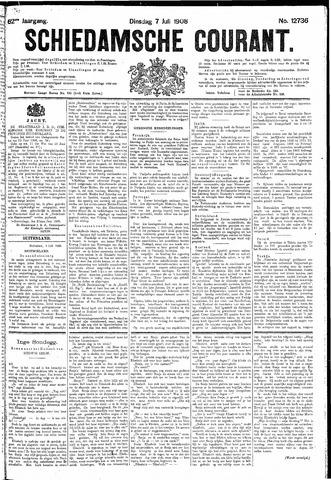 Schiedamsche Courant 1908-07-07