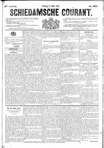 Schiedamsche Courant 1912-05-17
