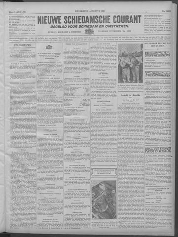Nieuwe Schiedamsche Courant 1932-08-29