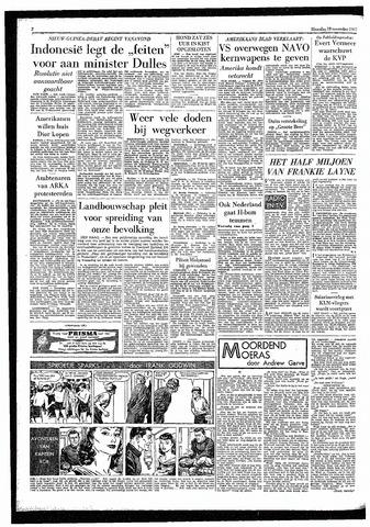 Rotterdamsch Parool / De Schiedammer 1957-11-18