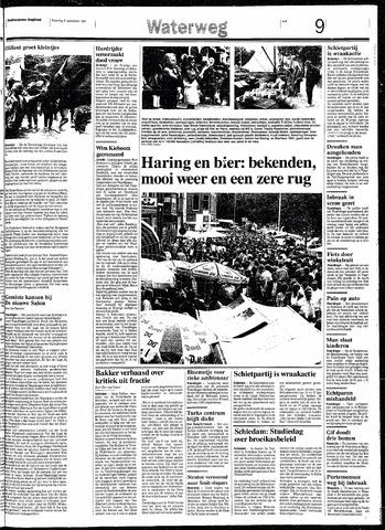Rotterdamsch Nieuwsblad / Schiedamsche Courant / Rotterdams Dagblad / Waterweg / Algemeen Dagblad 1991-09-09