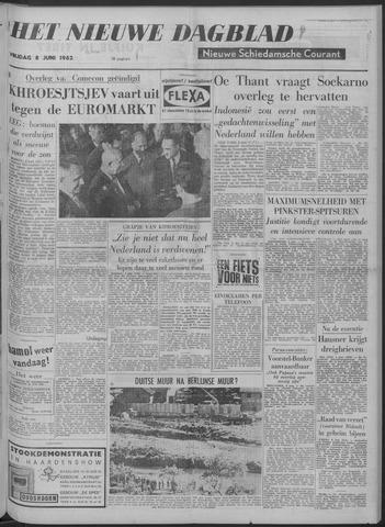 Nieuwe Schiedamsche Courant 1962-06-08
