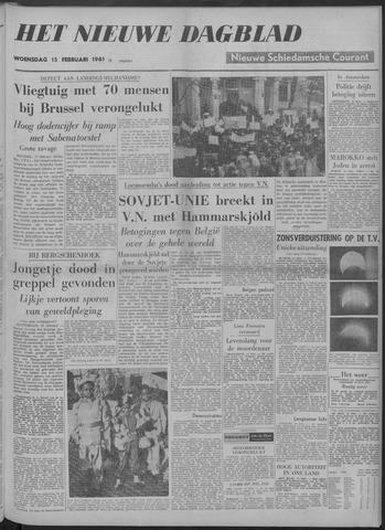 Nieuwe Schiedamsche Courant 1961-02-15