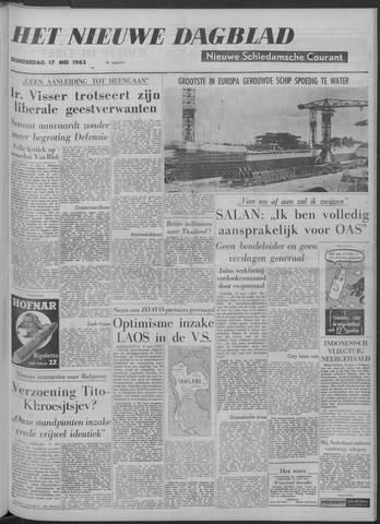 Nieuwe Schiedamsche Courant 1962-05-17