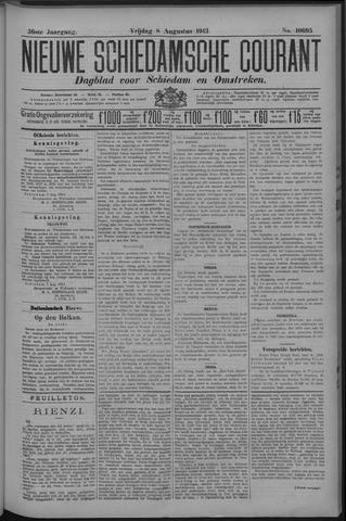 Nieuwe Schiedamsche Courant 1913-08-08