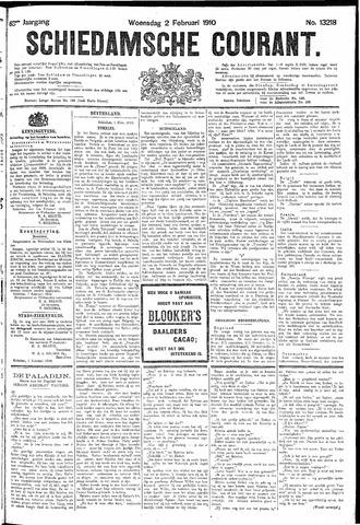 Schiedamsche Courant 1910-02-02