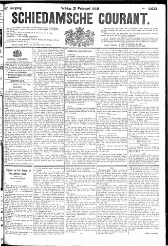 Schiedamsche Courant 1908-02-21