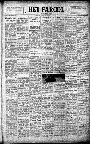 Rotterdamsch Parool / De Schiedammer 1946-01-25