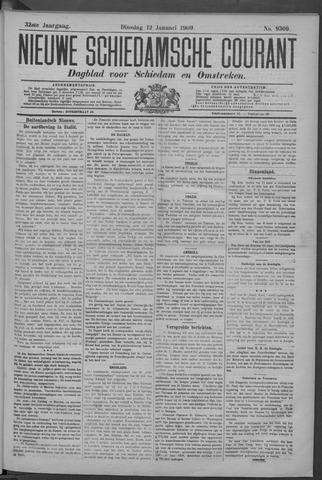 Nieuwe Schiedamsche Courant 1909-01-12