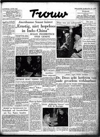Trouw / De Rotterdammer 1954-06-05