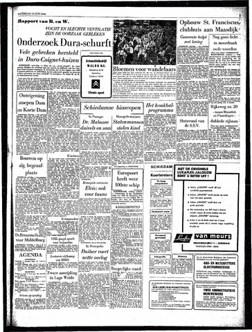 Rotterdamsch Parool / De Schiedammer 1963-06-15