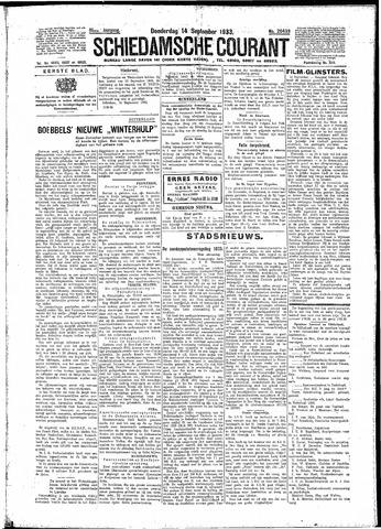 Schiedamsche Courant 1933-09-14