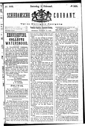 Schiedamsche Courant 1881-02-12