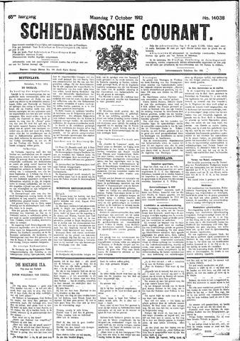 Schiedamsche Courant 1912-10-07