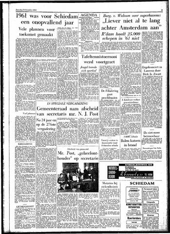 Rotterdamsch Parool / De Schiedammer 1961-12-30