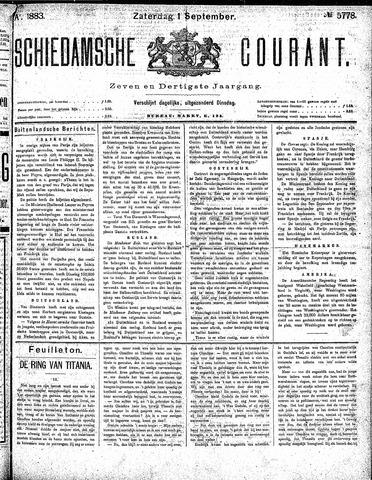 Schiedamsche Courant 1883-09-01