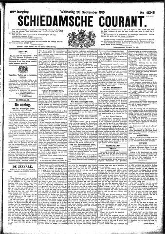 Schiedamsche Courant 1916-09-20