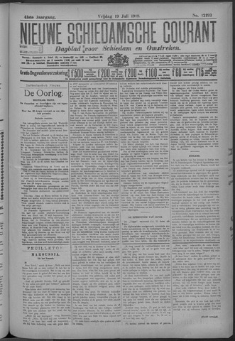 Nieuwe Schiedamsche Courant 1918-07-19