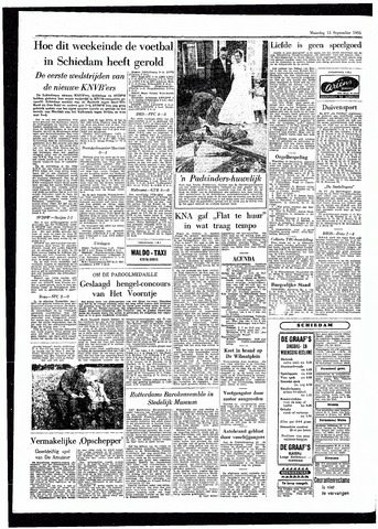 Rotterdamsch Parool / De Schiedammer 1955-09-12