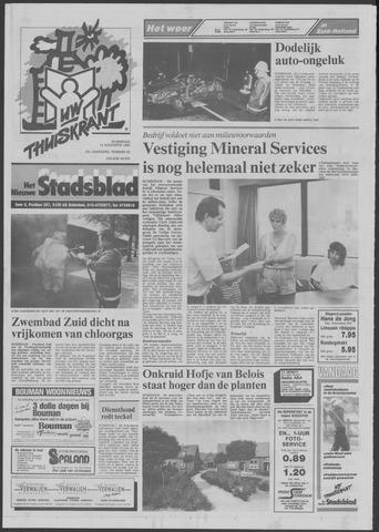 Het Nieuwe Stadsblad 1990-08-15