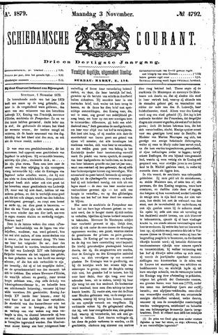 Schiedamsche Courant 1879-11-03