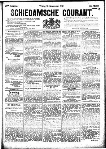 Schiedamsche Courant 1916-11-10