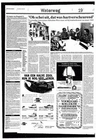 Rotterdamsch Nieuwsblad / Schiedamsche Courant / Rotterdams Dagblad / Waterweg / Algemeen Dagblad 1993-03-31