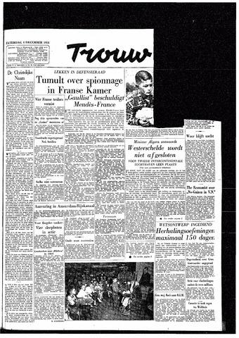 Trouw / De Rotterdammer 1954-12-04