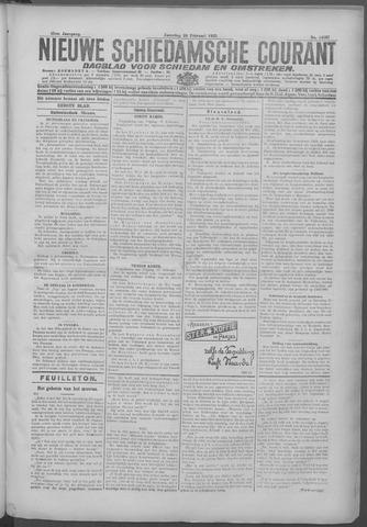 Nieuwe Schiedamsche Courant 1925-02-28