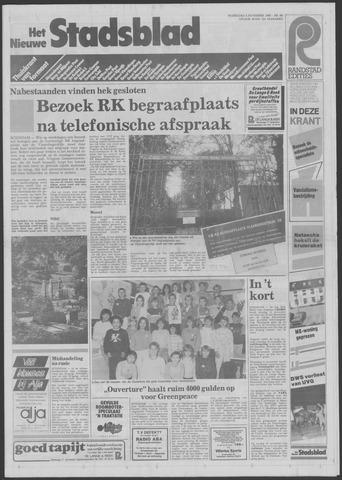 Het Nieuwe Stadsblad 1985-11-06