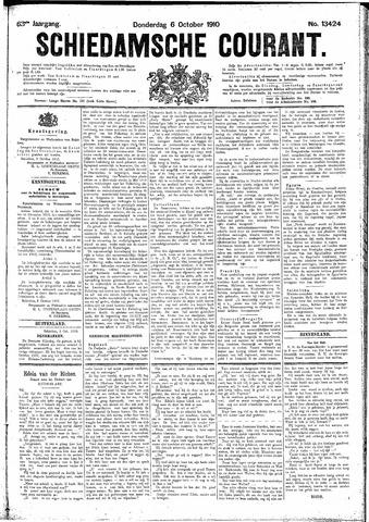 Schiedamsche Courant 1910-10-06