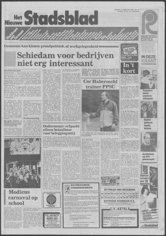 Het Nieuwe Stadsblad 1985-02-15
