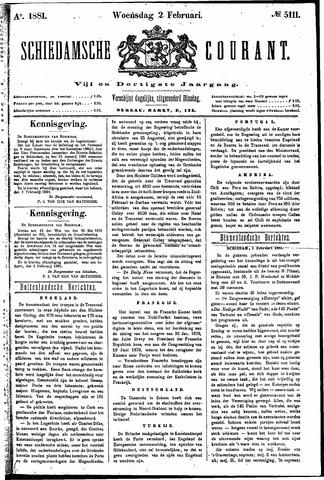 Schiedamsche Courant 1881-02-02