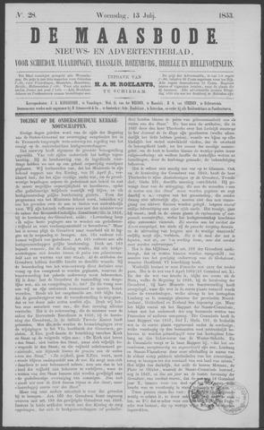 De Maasbode 1853-07-13