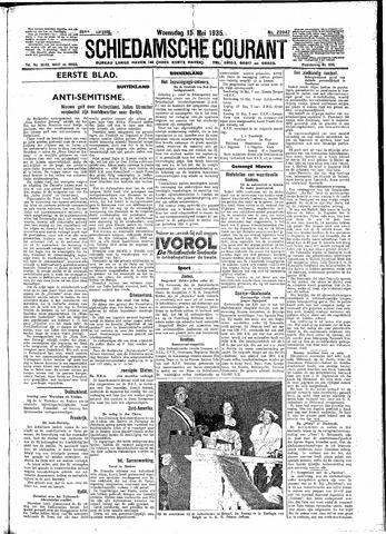 Schiedamsche Courant 1935-05-15
