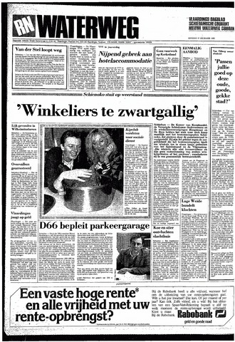 Rotterdamsch Nieuwsblad / Schiedamsche Courant / Rotterdams Dagblad / Waterweg / Algemeen Dagblad 1985-12-17