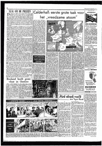 Rotterdamsch Parool / De Schiedammer 1957-09-04
