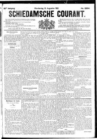 Schiedamsche Courant 1912-08-15