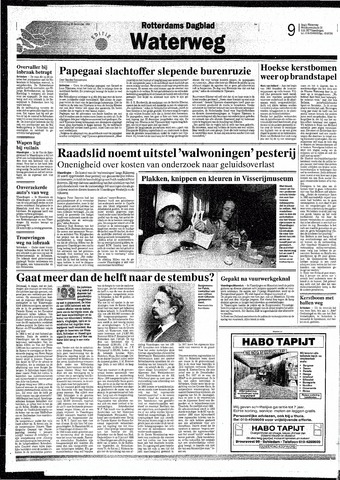 Rotterdamsch Nieuwsblad / Schiedamsche Courant / Rotterdams Dagblad / Waterweg / Algemeen Dagblad 1993-12-30