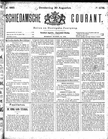 Schiedamsche Courant 1883-08-30