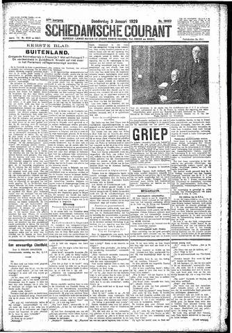 Schiedamsche Courant 1929-01-03