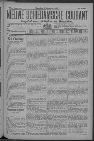 Nieuwe Schiedamsche Courant 1917-08-06