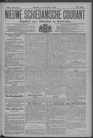 Nieuwe Schiedamsche Courant 1909-11-16