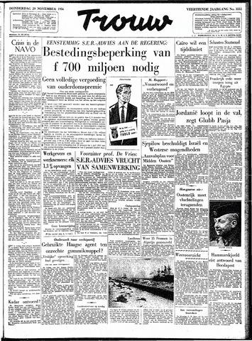Trouw / De Rotterdammer 1956-11-29