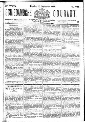 Schiedamsche Courant 1898-09-20