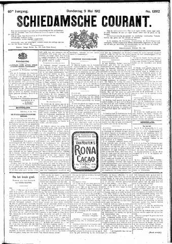 Schiedamsche Courant 1912-05-09