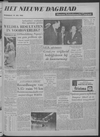 Nieuwe Schiedamsche Courant 1962-07-18