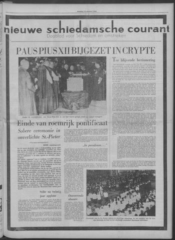 Nieuwe Schiedamsche Courant 1958-10-14