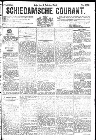 Schiedamsche Courant 1908-10-03