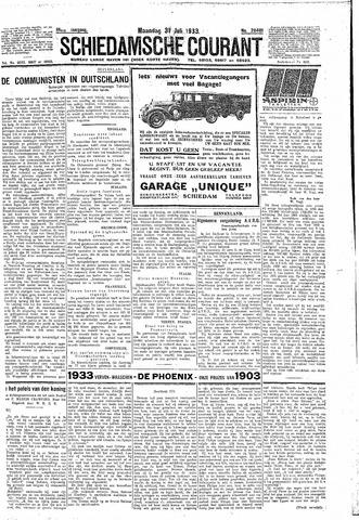Schiedamsche Courant 1933-07-31